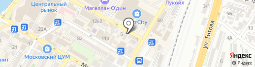 Levantino на карте Сочи