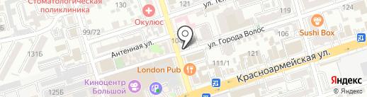 Приоритет24 на карте Ростова-на-Дону