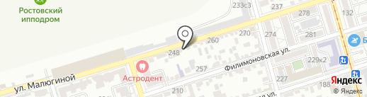 Бюро Инструментального Хозяйства на карте Ростова-на-Дону