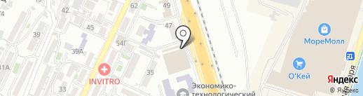 Сластена на карте Сочи