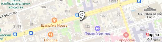 Бон Аппетит на карте Ростова-на-Дону