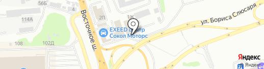Мебель Поволжья на карте Ростова-на-Дону