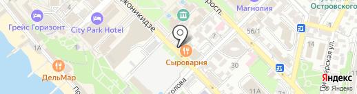 ВЕРОНА на карте Сочи
