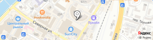 Сой Соич на карте Сочи