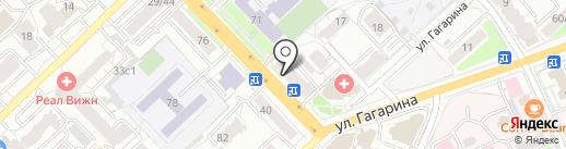 Кухни & Купе на карте Рязани