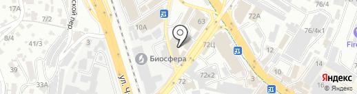 Фаворит на карте Сочи