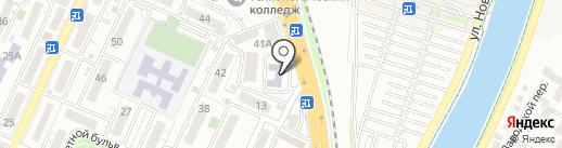 Сочинский центр профессиональной подготовки и повышения квалификации кадров Федерального дорожного агентства на карте Сочи