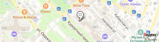 Банкомат, Минбанк, ПАО на карте Сочи
