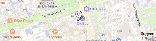 Hookah Hostel tattoo club на карте Ростова-на-Дону