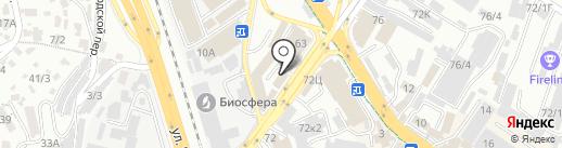 ТЭНы здесь на карте Сочи