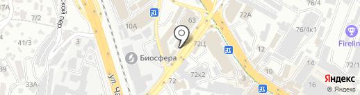RedLak на карте Сочи
