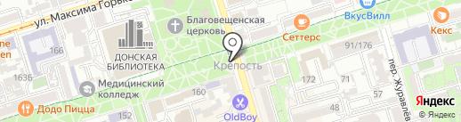 Русский аппетит на карте Ростова-на-Дону