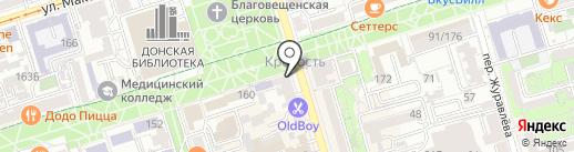 Рыба жлоба на карте Ростова-на-Дону