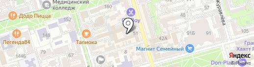 Дочки Матери на карте Ростова-на-Дону
