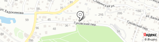 Русские канары на карте Ростова-на-Дону