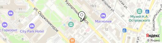 Независимый центр защиты прав потребителей на карте Сочи