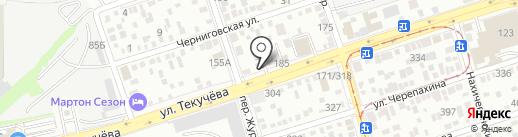 АЗТ СК на карте Ростова-на-Дону