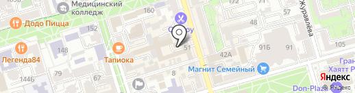 Rostov.Apple-zone на карте Ростова-на-Дону