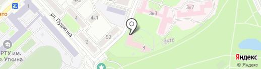 Клиническая больница им. Н.А. Семашко на карте Рязани