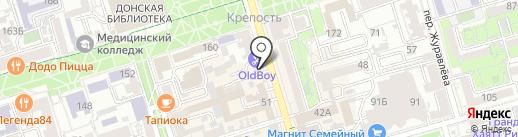 Чудеса в лукошке на карте Ростова-на-Дону