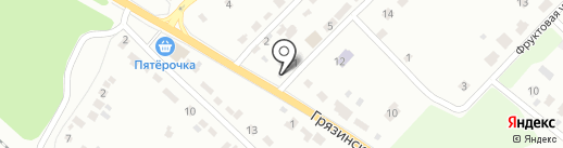 Пивной погребок на карте Липецка