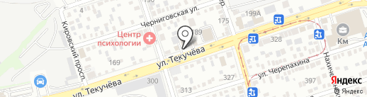 Bloom Room на карте Ростова-на-Дону