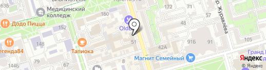 Debut-S на карте Ростова-на-Дону