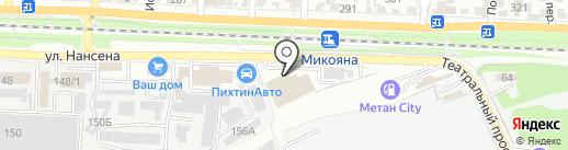 Seintex на карте Ростова-на-Дону
