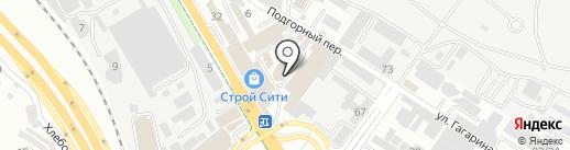 Уровень на карте Сочи