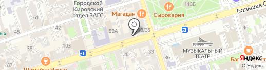 Вам Букет на карте Ростова-на-Дону