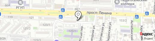 Курочка рядом на карте Ростова-на-Дону