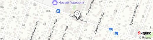 Магазин фруктов и овощей на карте Ростова-на-Дону