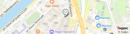 Канышевы на карте Сочи