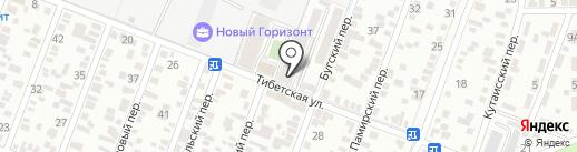 Горизонт на карте Ростова-на-Дону