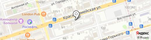 LA VIE на карте Ростова-на-Дону