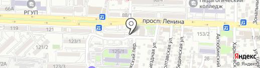 Магазин табачных изделий на карте Ростова-на-Дону