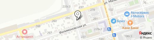 Центр патриотического воспитания молодежи Ростовской области, ГАУ на карте Ростова-на-Дону