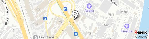 СБС на карте Сочи