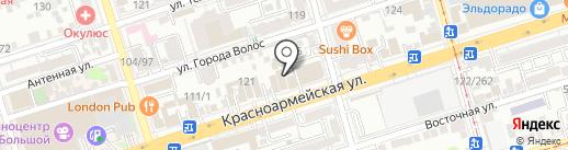 Выгодные туры! на карте Ростова-на-Дону