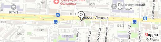 Кондитерская-кулинария на карте Ростова-на-Дону