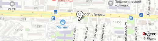 Alba на карте Ростова-на-Дону