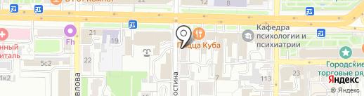 Капитал Инвест, КПК на карте Рязани