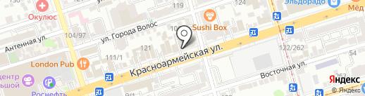 Loft cafe на карте Ростова-на-Дону