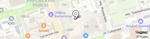 Ingart на карте Ростова-на-Дону