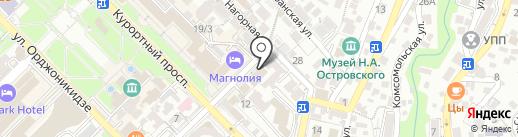 Apprefresh на карте Сочи