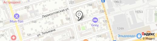 Швейная мастерская на карте Ростова-на-Дону