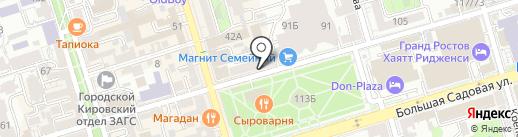 Дыра в стене на карте Ростова-на-Дону