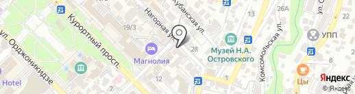 Творческая студия Олега Черникова на карте Сочи