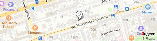 БрасКо на карте Ростова-на-Дону