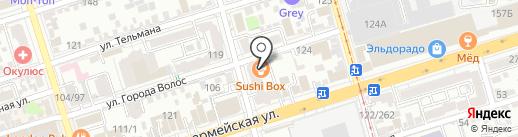 Банкомат, Банк Финансовая корпорация Открытие, ПАО на карте Ростова-на-Дону